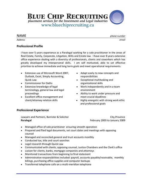 sle of professional resume with experience professional resume sle 28 images 28 images sle