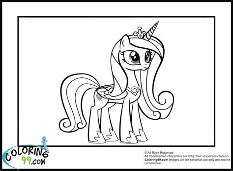 free coloring pages princess cadence my little pony princess coloring pages princess cadence