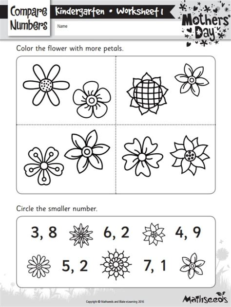 day math worksheets free mother s day themed math worksheets the reading