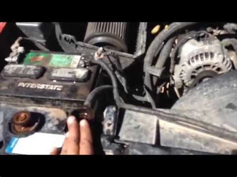 replace  bypass hose      chevy