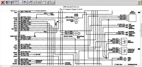 1989 lincoln town car fuel relay wiring