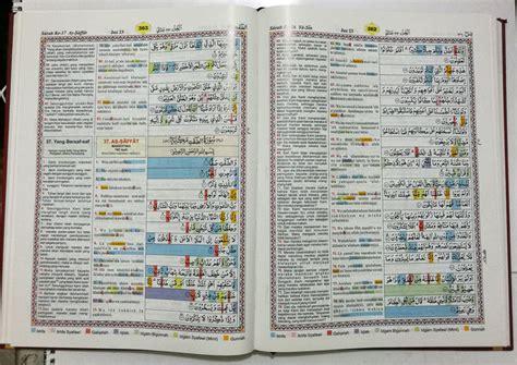 Al Quran Ku Dengan Tajwid Blok Warna 135 X 185 Cm al quran ku arab terjemah a4 jual quran murah