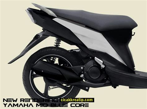 Batok Komplit Yamaha Mio Smile renderan baru inikah cikal bakal new yamaha mio motoblast