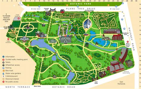 Adelaide Botanic Gardens Map Community Input Sought On Transformation Of The Royal