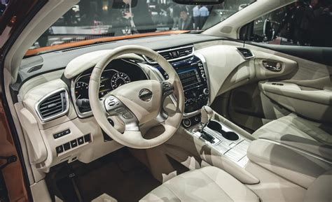 2015 Nissan Murano Interior by Car And Driver