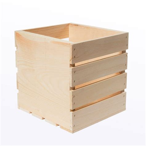 crates pallet 9 5 in x 9 in x 9 5 in square wood