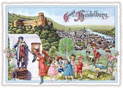 Postkarten Drucken Heidelberg by Tausendsch 214 N Gruss Aus Heidelberg Postkarte