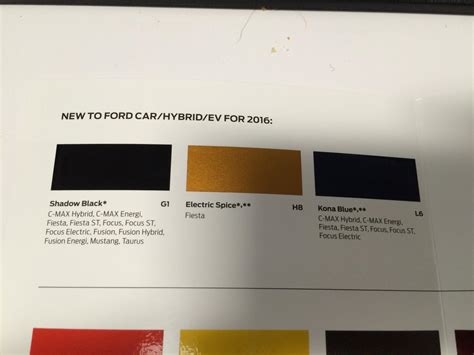 2016 ford mustang colors brochure leaked autoevolution