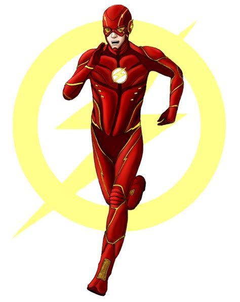 imagenes sin fondo para flash the flash redesign by jacknapierlauching on deviantart
