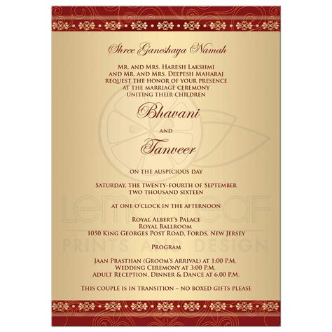 Ceremony Cards Templates by Wedding Ceremony Invitation Card Template Templates Station