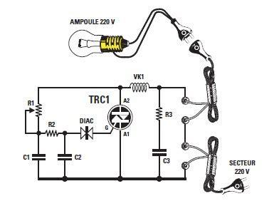 interrupteur variateur 2011 schema de variateur simple pour le 220 volts avec lx