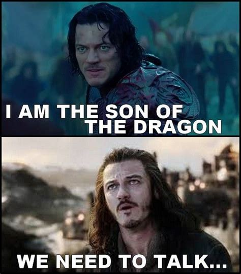 luke evans in dracula untold and in the hobbit trilogy
