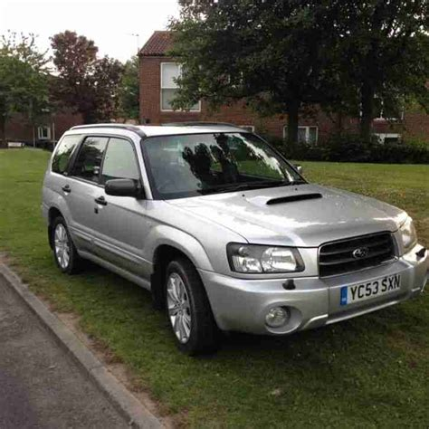 Subaru Forester Turbo For Sale by Subaru 2003 Forester Xt Turbo Silver Car For Sale