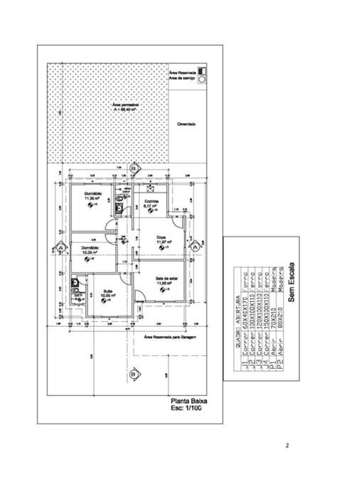 desenhar planta baixa desenho t 233 cnico planta baixa cortes fachada e cobertura
