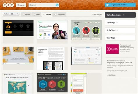 pattern tap alternative 7个设计师必备的国际顶尖设计网站 优设 uisdc