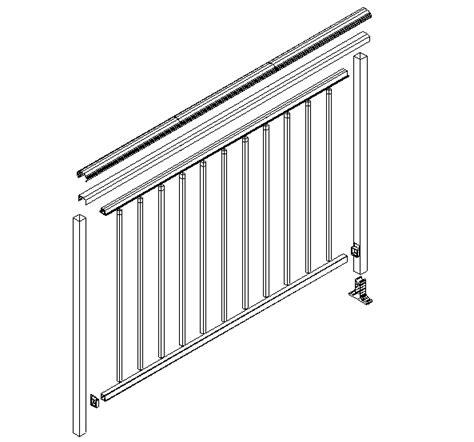 Aluminium Handrails Sydney cheap balustrades glass balcony railings aluminium balustrading