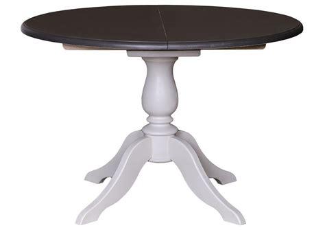 acheter votre table ovale en pin massif bicolore avec