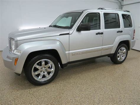 jeep liberty silver inside 2008 jeep liberty limited 4x4 limited 4dr suv in
