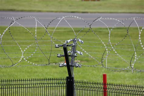 electric fence wire electric barbed wire free stock photo domain pictures