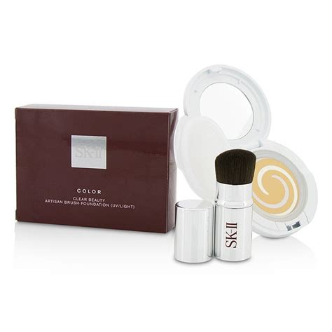 Sk Ii Color Clear Powder Foundation Spf25 Pa Refill Mss sk ii color clear artisan brush foundation spf 40 with brush uv light 420 fresh