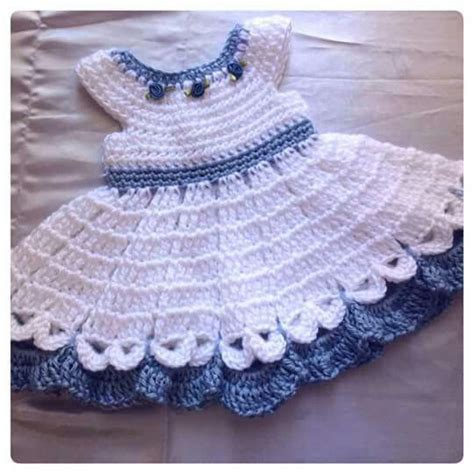 Handmade Crochet Baby Clothes - 17 best images about vestiditos white on