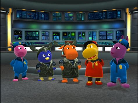 Backyardigans Original Cast Image Garbage Trek Cast Jpg The Backyardigans Wiki