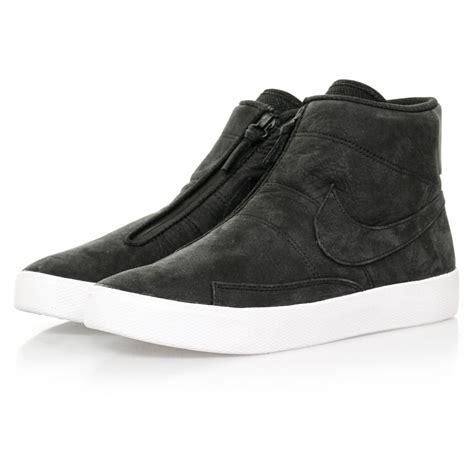 nike blazer advanced black shoe