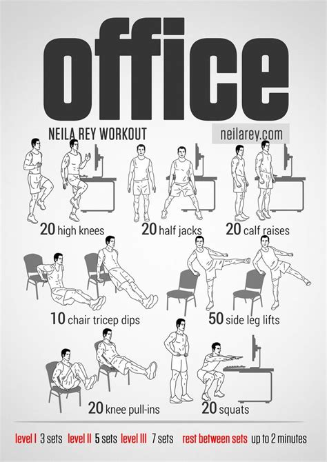 office workout works  abs core stability calves