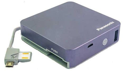 Power Bank Panasonic shop panasonic smart power bank 5200 mah grey at