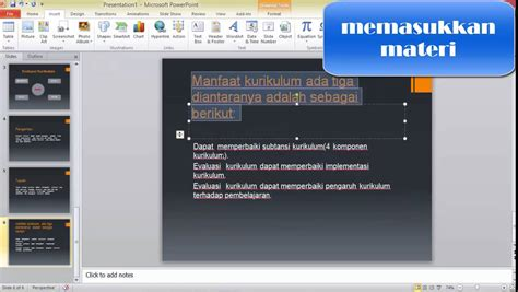 membuat power point slide show tutorial membuat slide presentasi menggunakan hyperlink