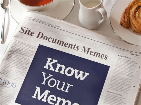 Newspaper Meme Generator - morning news know your meme