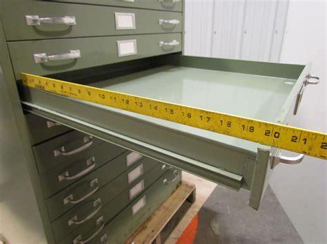 blueprint drawer cole 11 drawer steel flat file blueprint cabinet green 40 3 8 quot h ebay