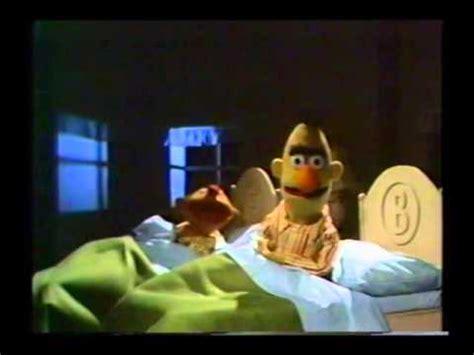 bert and ernie in bed sesame street ernie and bert noisy bedroom youtube