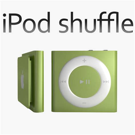 Apple Shuffle Now Available by Apple Ipod Shuffle 3d Model