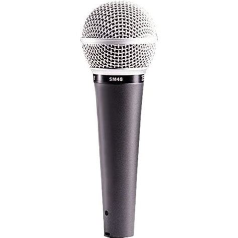 Shure Classic Handmade Quality - shure sm48 lc vocal microphone rw harmonicas