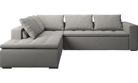 und sofas sofas with open end mezzo corner sofa with lounging unit
