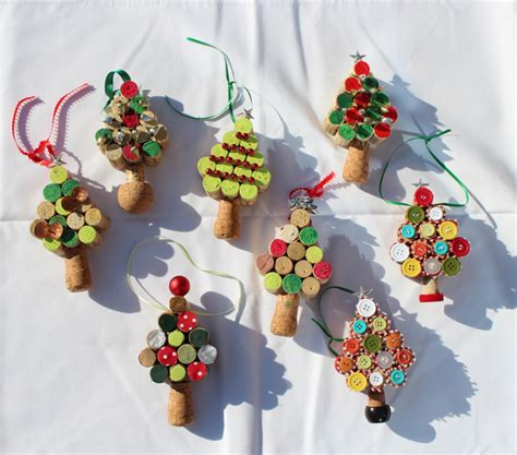 wine cork christmas tree ornaments diy cork tree ornament the stripe
