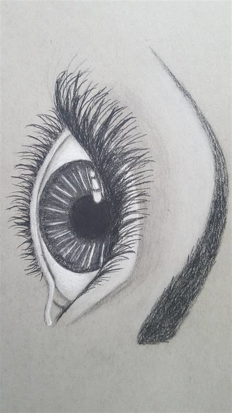 Drawing W Charcoal by Eye Drawing W Charcoal By Shadedblackk On Deviantart