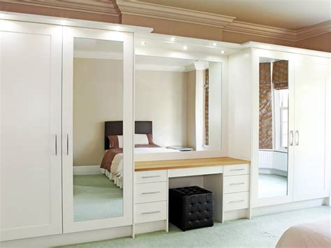 designer fitted bedrooms fitted mirror wardrobe for bedroom storage design