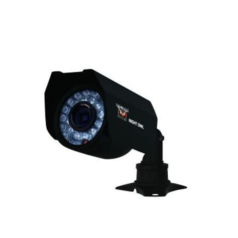 owl wired 400 tvl indoor outdoor ccd bullet shaped