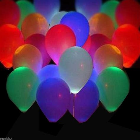 Light Up Balloons by Glow In The Balloons Trusper