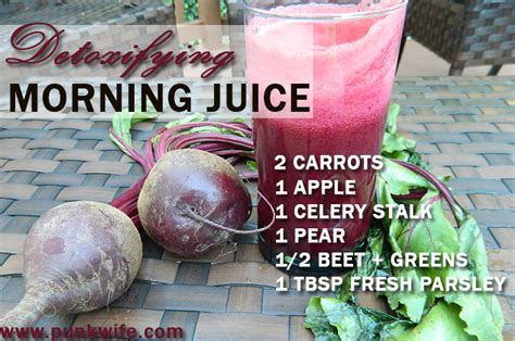 Morning Juice Recipe For Detox by Punkwife Detox Morning Juice Recipe Punkwife