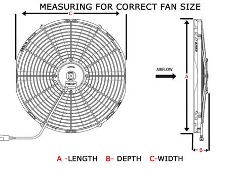 low profile electric radiator fan spal usa electric cooling fans