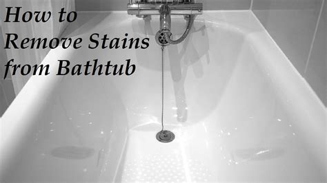 how to remove stains from bathtub how to remove stains from a bathtub how to remove stains