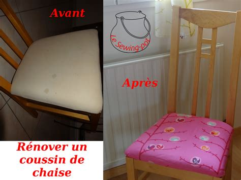 Recouvrir Une Assise De Chaise by Le Sewing Pot Tuto Recouvrir Une Chaise En Tissu