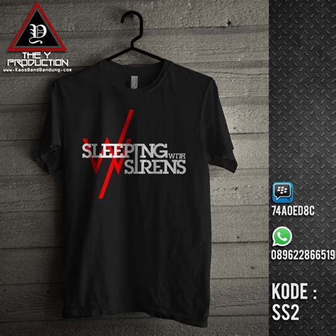 kaos sleeping with sirens ss2 kaosbandbandung