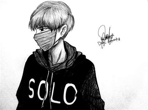 Sketches Black And White by Anime Drawings Black And White Sad Boy Sketch Sad