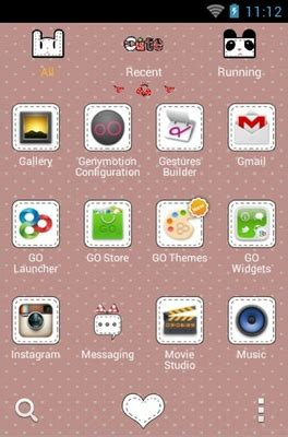 themes for android cute cute android theme for go launcher androidlooks com
