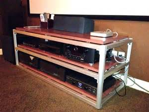 Stand Design Audio Rack Steve Blinn Designs 3 Shelf Wide Audio Rack