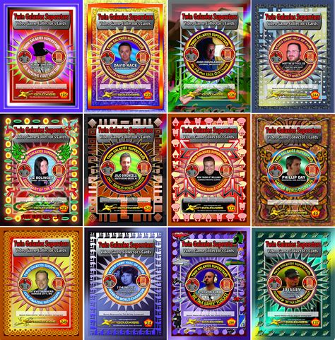 twin galaxies superstars 2010 trading card set - Gift Card Trading